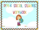 Pre-K Social Studies Workbook