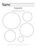 Pre-K Space Explorers Packet