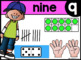 Pre-K Spanish & English Posters - Numbers 1 to 20