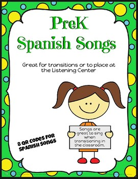 Pre-K Spanish Songs for Transitions