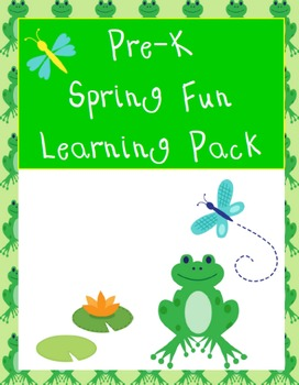 Pre-K Spring Fun Learning Pack
