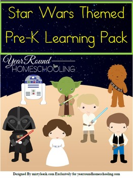 Pre-K Star Wars Learning Pack