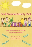 Pre-K Summer Activity Pack