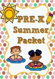 Pre-K Summer Packet