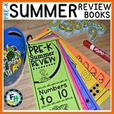 Pre-K Summer Review Activity Books BUNDLE