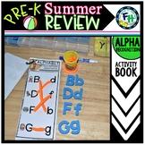 Pre-K Summer Review: Alphabet Activity Book