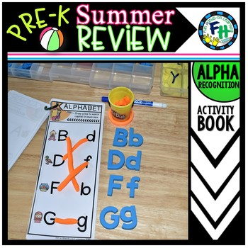 Pre-K Summer Review: Alphabet Activity Book
