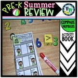 Pre-K Summer Review: Compare Numbers 1-10 Book
