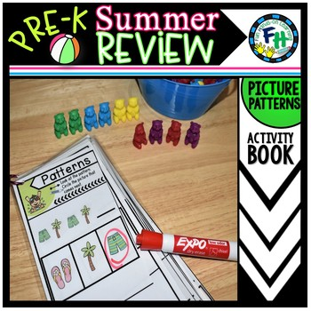 Pre-K Summer Review: Patterns Book