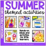 Pre-K Summer Themed Activities