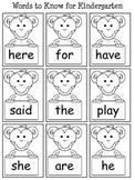 Pre-K Summer review for Kindergarten readiness