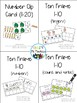 Pre-K Task Cards for Early Finishers - Spanish Growing Bundle