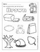 Pre-K Thanksgiving Printables
