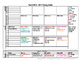 Pre-K Thematic/Lesson Plan Pacing Guide-Timeline Editable