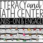 Pre-K Themed Literacy and Math Centers *GROWING BUNDLE*