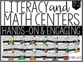 Pre-K Themed Literacy and Math Centers SET TWO