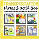 Pre-K Transportation Themed Centers & Activities