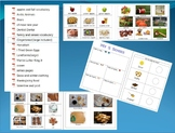 Pre-K Vocabulary Pages