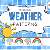 Pre-K Weather Pattern Strips