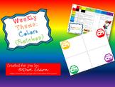 Pre-K Weekly Theme: Colors / Rainbow