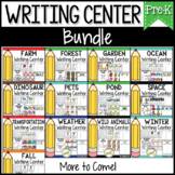 Pre-K Writing Center Bundle | Write the Room & More