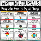 Pre-K Writing Journals: BUNDLE for School Year