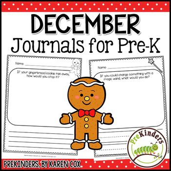 Pre-K Writing Journals: DECEMBER