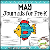 Pre-K Writing Journals: MAY