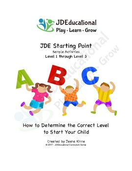 Pre-K YOUR Way Starting Point Activity Series