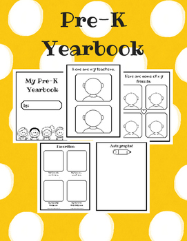 Pre-K Yearbook