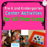 Pre-K and Kindergarten Center Activities
