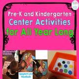 Pre-K and Kindergarten Center Activities