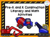 Pre-K and Kindergarten Construction Literacy and Math Activities