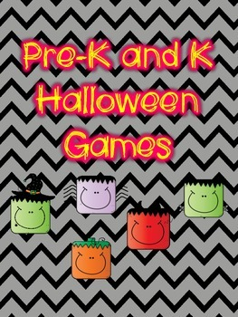 Pre-K and K Halloween Games
