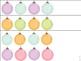 Pre-K and Kindergarten Math Ornament Centers
