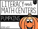 Pre-K and Kinder Pumpkins Themed Centers *Limited Release*