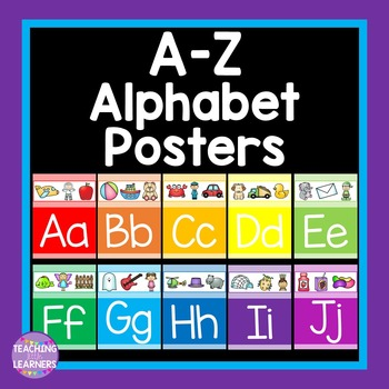 A- Z Alphabet Posters