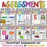 PreK and Kindergarten Assessment Bundle, Digital Flashcard