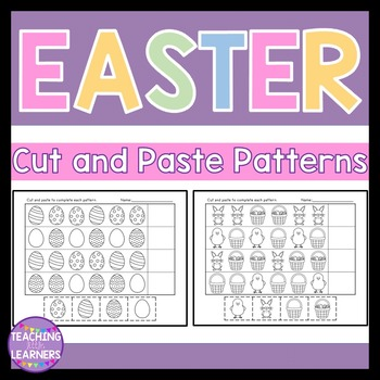 Easter Patterns Cut and Paste