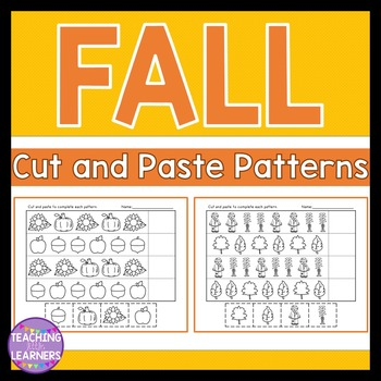 Fall Patterns Cut and Paste