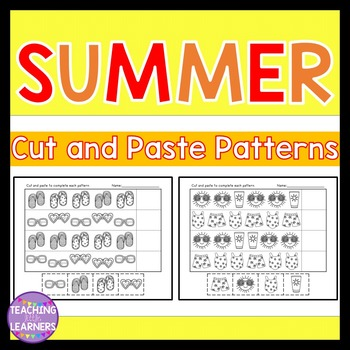 Summer Patterns Cut and Paste