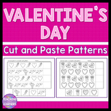 Valentine's Day Patterns Cut and Paste