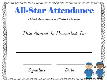 Pre-K and Kindergarten End of the Year Awards!