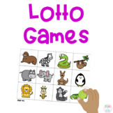 Pre-K and Kindergarten Lotto Games