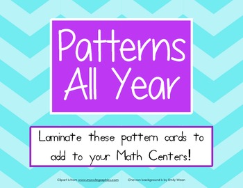 Pre-K and Kindergarten Math: Patterns All Year