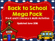 Pre-K and Kindergarten Math and Literacy Theme Bundle for