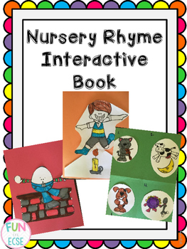 Pre-K and Kindergarten Nursery Rhyme Interactive Book