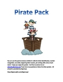 Pre-K and Kindergarten Pirate Pack