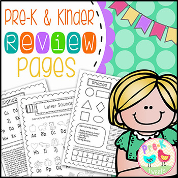 Pre-K and Kindergarten Review