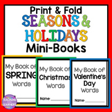Seasons and Holidays Mini-Books